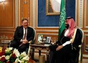 بن سلمان درباره حوادث عراق با پمپئو گفتگو کرد