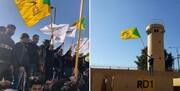 تصاویر|هجوم عراقی ها به سمت سفارت آمریکا/حضور سیاستمداران و نظامیان در میان معترضان