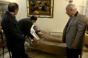 اعطای گواهینامه درجه یک هنری به علیاصغر شاهوردی