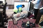 کرسی زغالی جان مرد روستایی در ساوه را گرفت