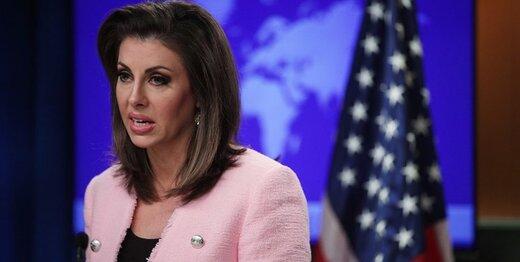 موضع سخنگوی وزارت خارجه آمریکا علیه ایران