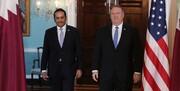 تشکر پمپئو از حمایت قطر درباره حوادث عراق