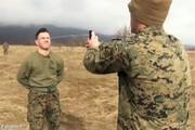فیلم | تمرین عجیب سربازان آمریکایی با اسپری فلفل
