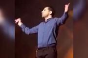 فیلم | رضا بهرام در کنسرتش پلی بک کرد!