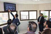 افتتاح سامانه هوشمند نظارت تصویری پست 230 کیلوولت گرمسار در شرکت برق منطقه ای سمنان