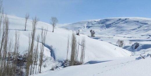 اختلاف دمای ۳۰ درجهای در ۲ نقطه کشور؛ باران و برف ایران را درمینوردد