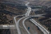 ترافیک روان در جاده ها؛ برف و باران سه استان را دربرگرفت