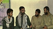 تصویر کمتر دیده شده از سردار قاآنی، فرمانده جدید نیروی قدس سپاه در کنار رهبر انقلاب