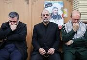 کدام فرماندهان نظامی در منزل سردار شهید سلیمانی حاضر شدند؟ +عکس
