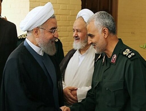President: Lieutenant General Soleimani's flag of fortitude to remain hoisted