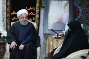 President Rouhani calls on Gen. Soleimani's family