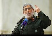 تصویری دیده نشده از حضور جانشین سردار سلیمانی در سوریه