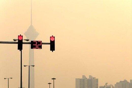 هشدار/ هوای تهران آلوده است؛ شاخص کیفیت روی عدد 108 قرار گرفته است
