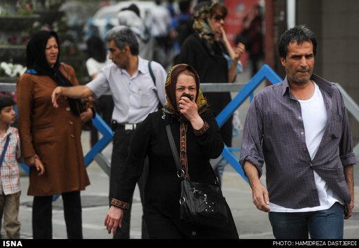 ۴ نقطه احتمالی برای بوی نامطبوع تهران