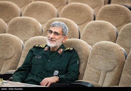 سخنگوی سپاه: سردار قاآنی صفحه و کانالی در شبکههای اجتماعی ندارد