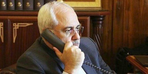محادثات هاتفية بين ظريف ونظيره الكندي حول حادث الطائرة الاوكرانية المنكوبة