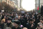 ببینید | جمعیت بینظیر در مراسم وداع با شهید قاسم سلیمانی در مشهد