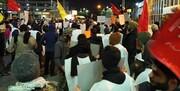 دانشجویان تحصن کننده در فرودگاه مهرآباد: ما را برای انتقام سخت اعزام کنید