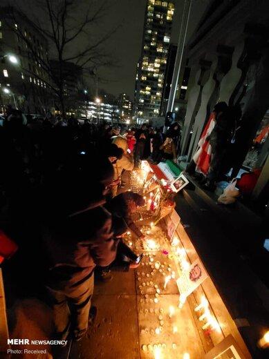 مراسم بزرگداشت شهید سپهبد قاسم سلیمانی در تورنتو کانادا