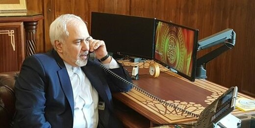 Zarif, Indian counterpart talk on phone
