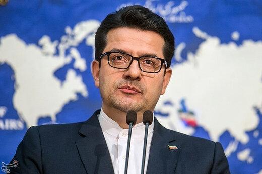 واکنش سخنگوی وزارت خارجه به سانحه سقوط هواپیمای مسافربری ایران