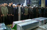 Leader of Islamic Revolution leads prayers on body of Lt. Gen. Soleimani