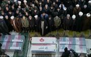دعا و عبارات کم نظیر رهبر انقلاب در نماز بر پیکر سردار شهید سلیمانی