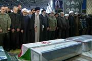 رهبر انقلاب تاکنون بر سر پیکر کدامیک از سرداران شهید حاضر شدهاند؟ +عکس