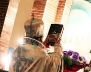ایرانیان مسیحی برای سردار شهید دعا خواندند