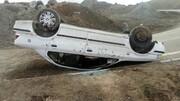 یک کشته و پنج مصدوم در حادثه رانندگی شرق سمنان