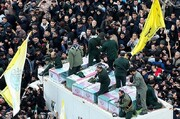 Iranians pay last respect to national hero General Soleimani
