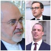 ظریف در تماسی با وزرای خارجه انگلیس و آلمان از مواضع آنان علیه ایران انتقاد کرد