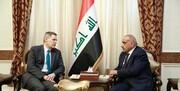 عبدالمهدی لزوم خروج نیروهای خارجی از عراق را به سفیر آمریکا ابلاغ کرد