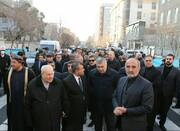 السفراء الأجانب يشاركون في مراسم تشييع جثمان القائد سليماني