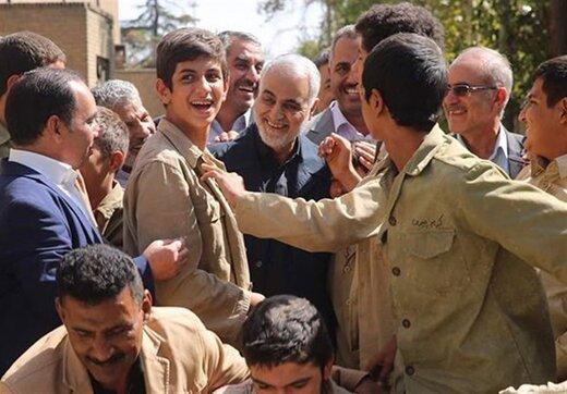 دستنوشته تاثیرگذار سردار شهید سلیمانی برای «آن بیست و سه نفر»