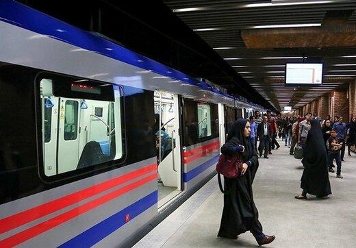 قطارهای فوقالعاده به خطوط متروی تهران اعزام شد