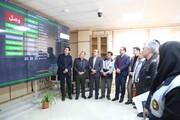بازدید مدیرعامل شرکت توزیع برق استان سمنان از سامانه های اطلاع رسانی