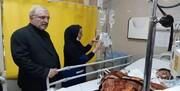 حضور وزیر بهداشت بر بالین مصدومان حادثه کرمان/ عکس