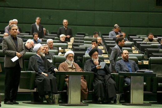 "Iranian parliament chants ""revenge"" for US terrorism"