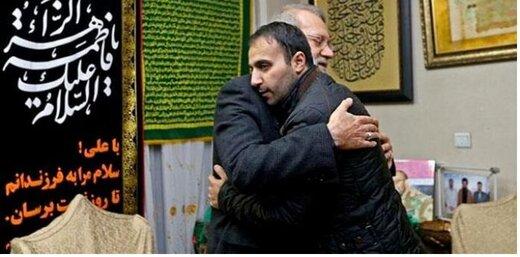 حذف پست دیدار رئیس مجلس با فرزند  سردار سپهبد شهید سلیمانی در اینستاگرام