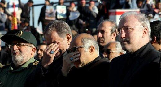 کدام چهرههای سیاسی و نظامی در مراسم تشییع سردار شهید سلیمانی در کرمان شرکت کردند؟ +عکس