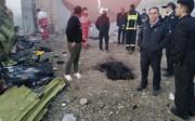 ببینید | نخستین تصاویر از محل سقوط هواپیمای اوکراینی و بقایای هواپیما