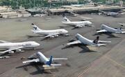 پروازها در فرودگاه مهرآباد عادی است