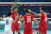 دومین پیروزی والیبالیستهای ایران در مسیر المپیک؛مصاف با چین برای صدرنشینی