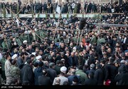 آمار نهایی جانباختگان حادثه مراسم تشییع شهید سپهبد سلمانی در کرمان