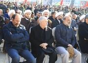 داوود میرباقری در مراسم خاکسپاری شهید حاجقاسم سلیمانی/ عکس