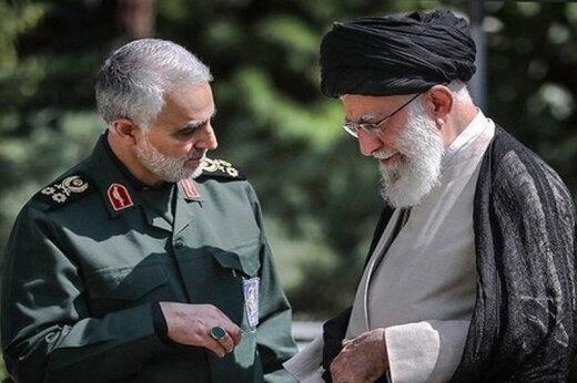 آنچه رهبر انقلاب درباره سردار حاج قاسم سلیمانی نگفتند