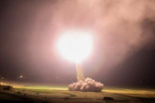 ببینید   نخستین تصاویر رسمی از اصابت موشکهای سپاه به پایگاه عین الاسد