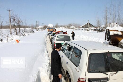 هشدار هواشناسی به رانندگان این استانها/ برف و باران در راه