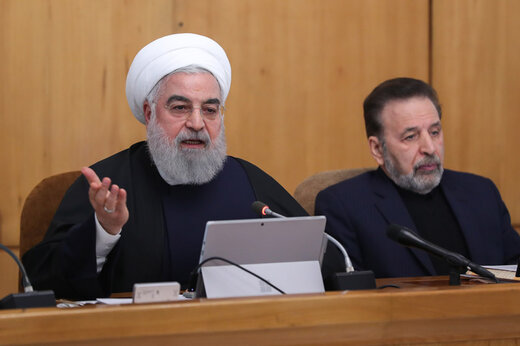 Rouhani underlines kicking out US forces from region